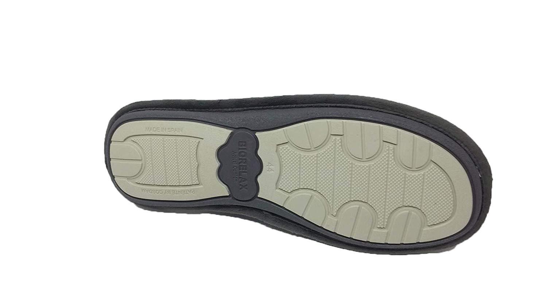 Zapatillas de Estar por casa//Hombre//Biorelax//Lona//Dibujo Moto